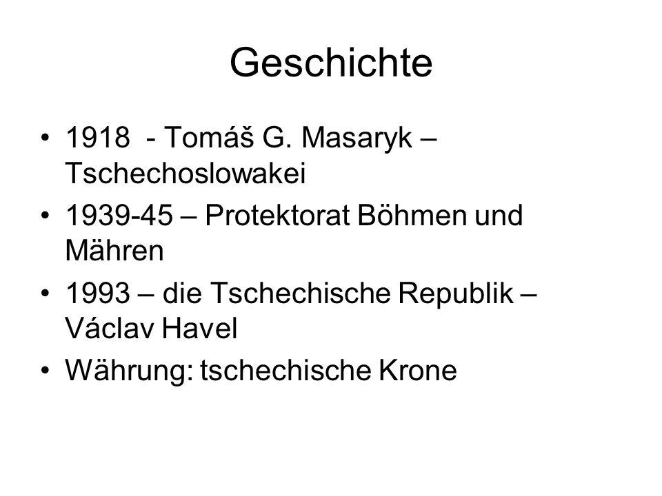 Geschichte 1918 - Tomáš G.
