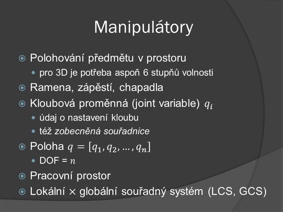 Manipulátory