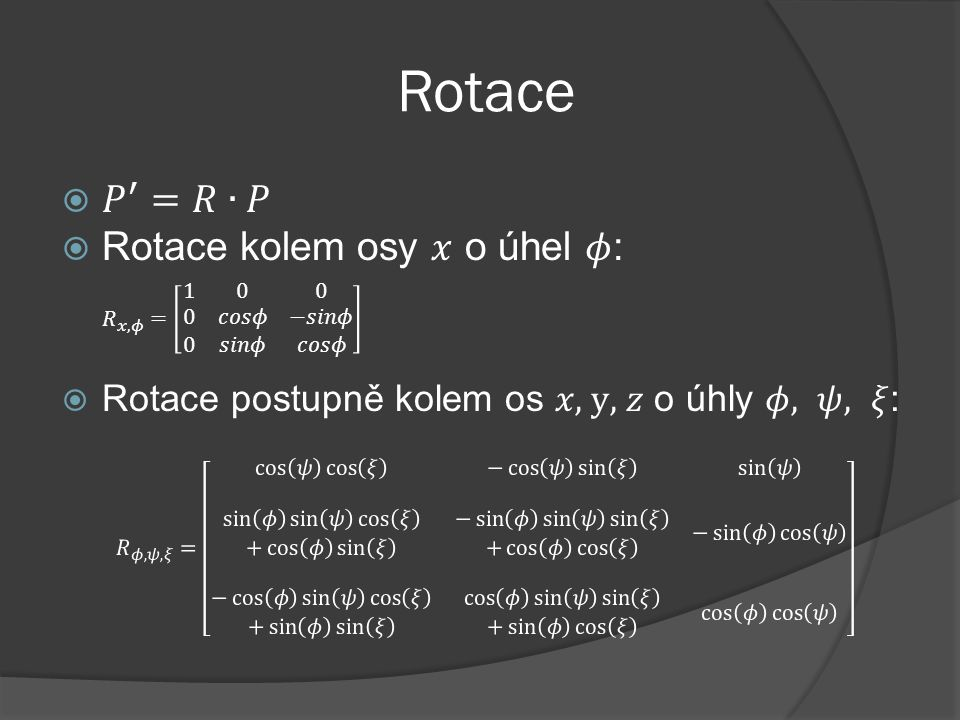Rotace