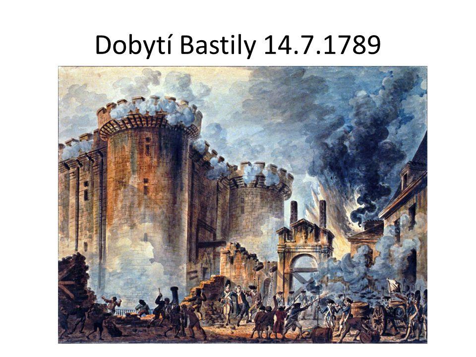 Dobytí Bastily 14.7.1789
