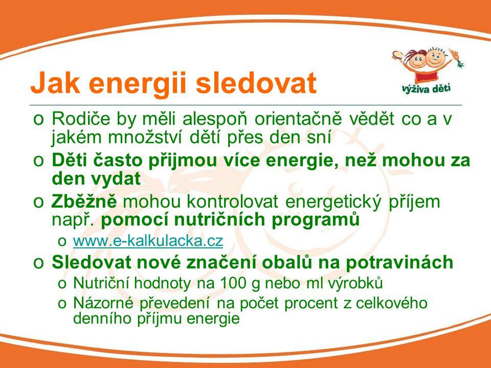 Nové značení potravin