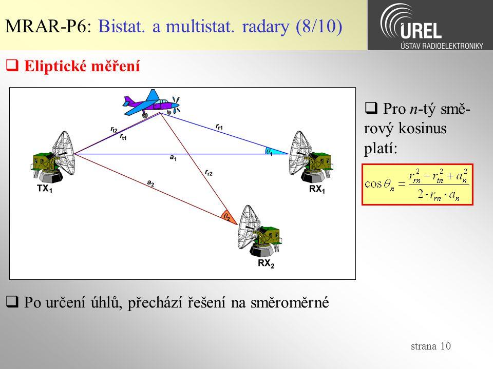 strana 10 MRAR-P6: Bistat.a multistat.
