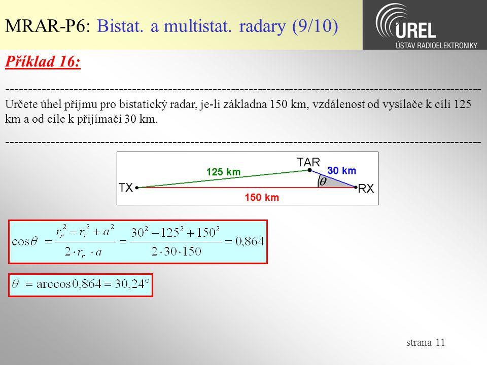 strana 11 MRAR-P6: Bistat.a multistat.