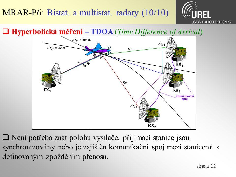 strana 12 MRAR-P6: Bistat.a multistat.