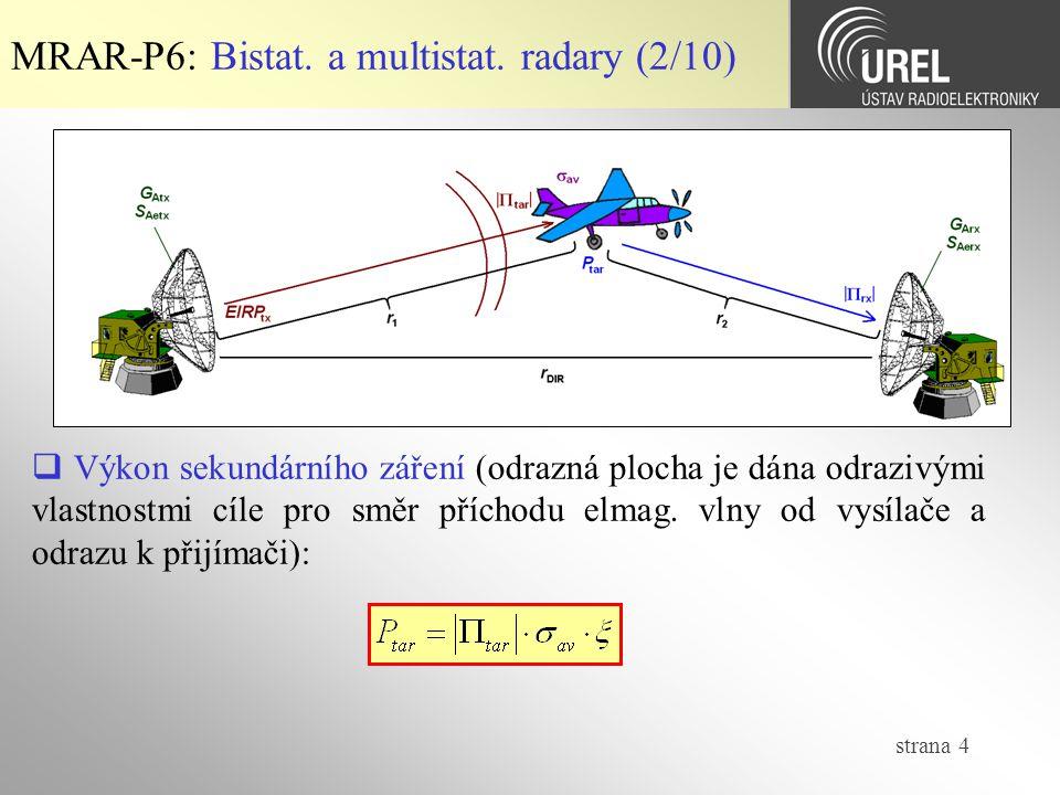 strana 4 MRAR-P6: Bistat.a multistat.