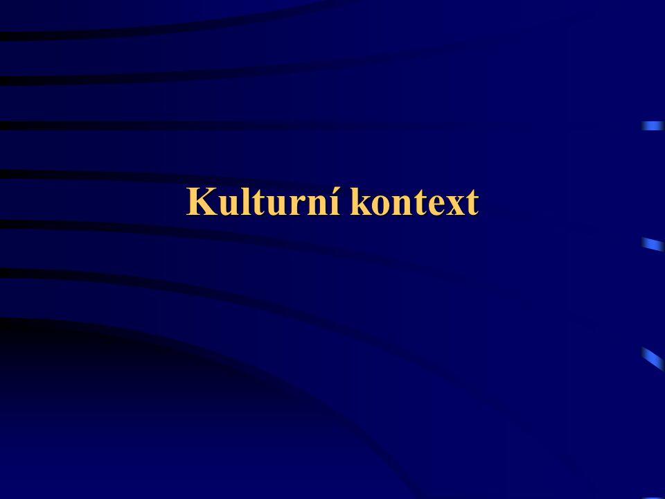 Kulturní kontext