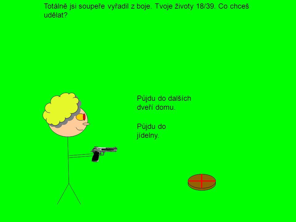 Střelil jsi policistu do hlavy a on zemřel.(To se ti to bude hezky vysvětlovat  ).