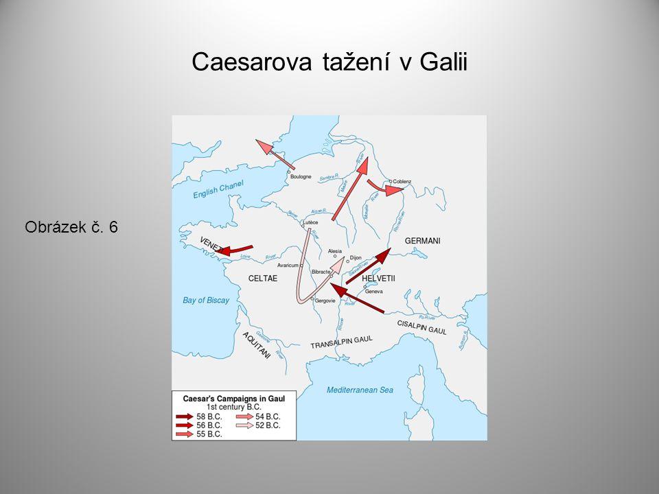 Caesarova tažení v Galii Obrázek č. 6