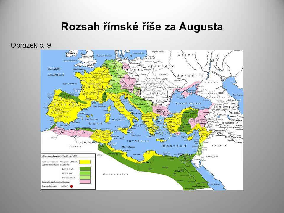Rozsah římské říše za Augusta Obrázek č. 9