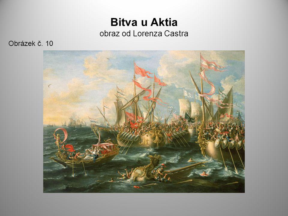 Bitva u Aktia obraz od Lorenza Castra Obrázek č. 10