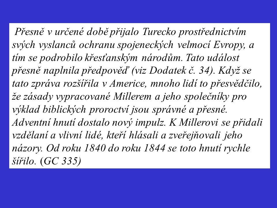 Přesně v určené době přijalo Turecko prostřednictvím svých vyslanců ochranu spojeneckých velmocí Evropy, a tím se podrobilo křesťanským národům. Tato