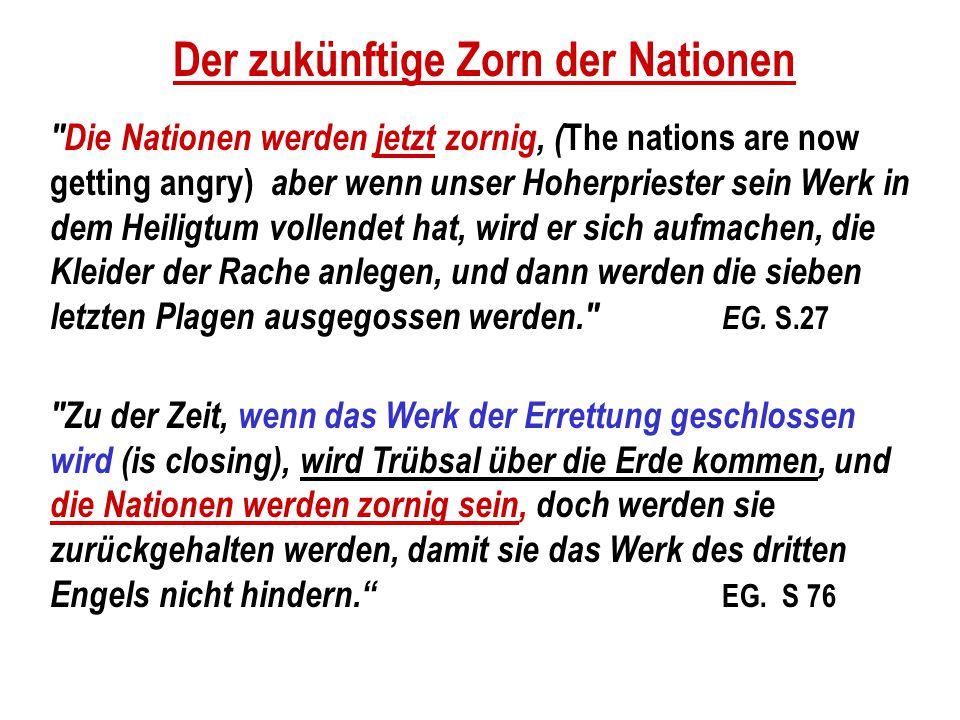 Der zukünftige Zorn der Nationen