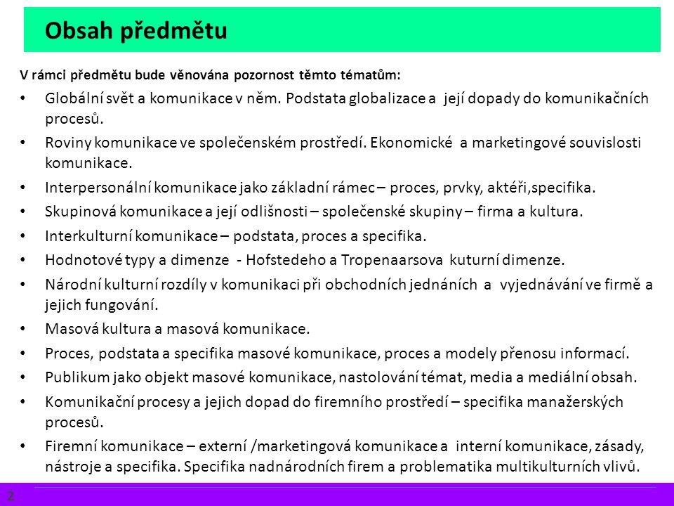 Literatura 3Iva Petrová 3 3  Bauman, Z.: Globalizace, Mladá fronta 1999, ISBN 80- 204 - 0817 – 7  Bedrnová, E., Nový, I.: Psychologie a sociologie řízení, Praha, Management Press, 2007, ISBN 978- 80-7261-169-0  Brooks, I.: Firemní kultura - jedinci, skupiny, organizace a jejich chování, Brno Computer Press 2003, ISBN 80 – 7226 – 763 - 9  Jirák, J., Köpplová, B.: Media a společnost.