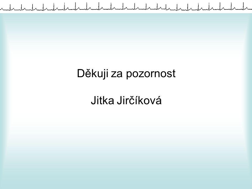 Děkuji za pozornost Jitka Jirčíková