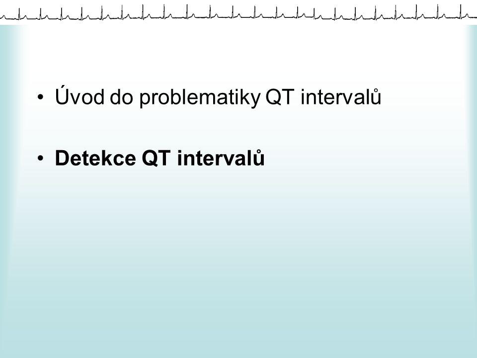 """Postup detekce QT intervalu výběr kanálu, stanovení parametrů a metod pro zpracování, filtry detekce R vlny, segmentace, RR intervaly detekce konce T vlny """"sestavení QT intervalu generování textového souboru a další zpracování v Matlabu"""