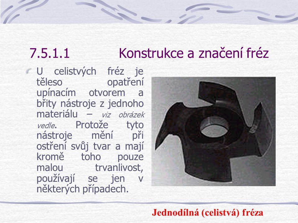 7.5.1.1Konstrukce a značení fréz Nástroje s vyraženým nápisem BG-FORM pro částečně mechanický posuv jsou od roku 1987 zakázány.