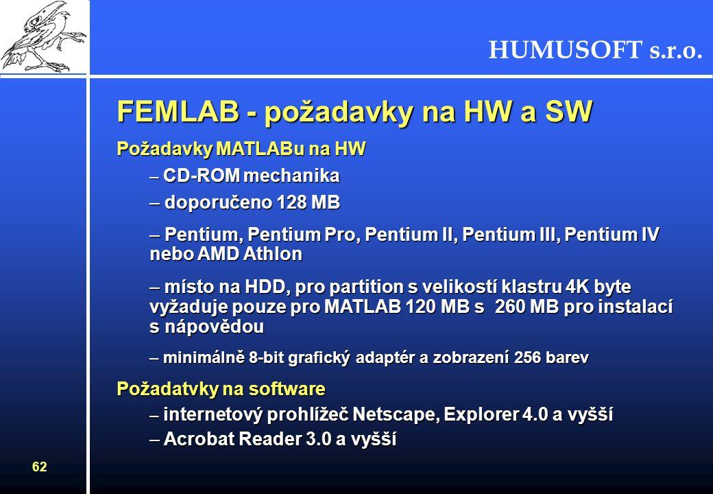 HUMUSOFT s.r.o. 61 Parabolická anténa s trychtýřovým zářičem Pokrytí modelu sítíVýpočet