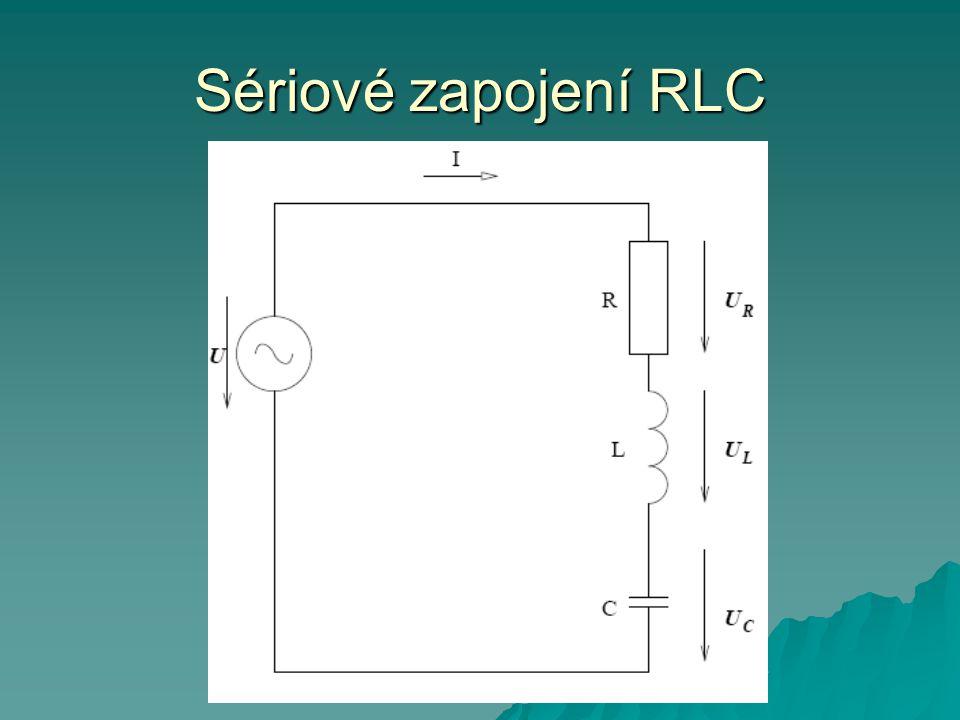 Sériové zapojení RLC
