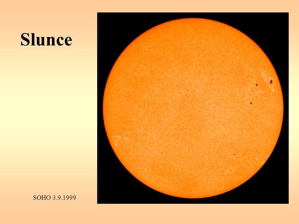 Slunce SOHO 3.9.1999