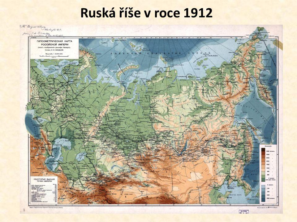 Ruská říše v roce 1912