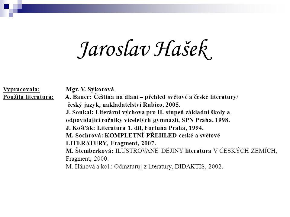 Jaroslav Hašek 9. ročník
