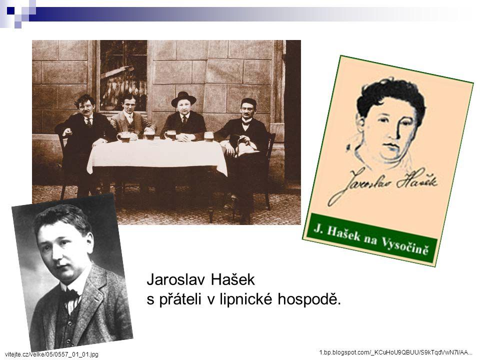 Jaroslav Hašek se synem, rok 1921 Hašek nebyl schopen řádného rodinného života. Vnuk Jaroslava Haška Richard
