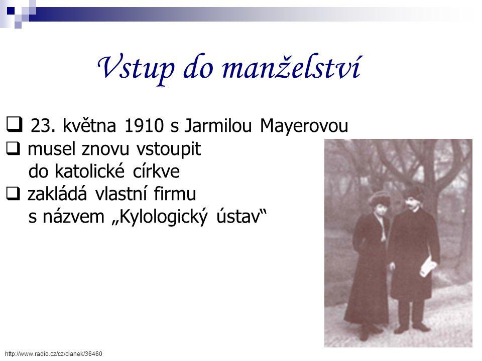 Život bohémský  jako tulák pěšky přes Slovensko, Halič a Uhry  1906 k anarchistickému hnutí (krátce i vězněn)  začal pracovat jako novinář  začal