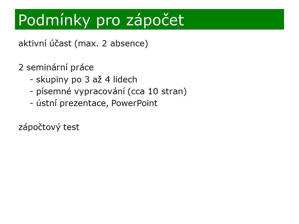 Výsledky testu 1.2.3. 4. 5.