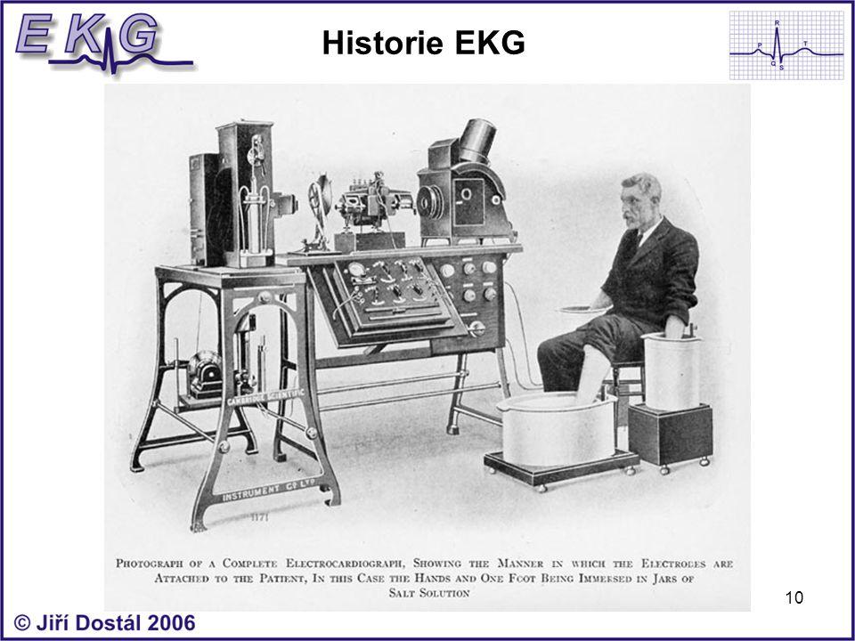10 Historie EKG