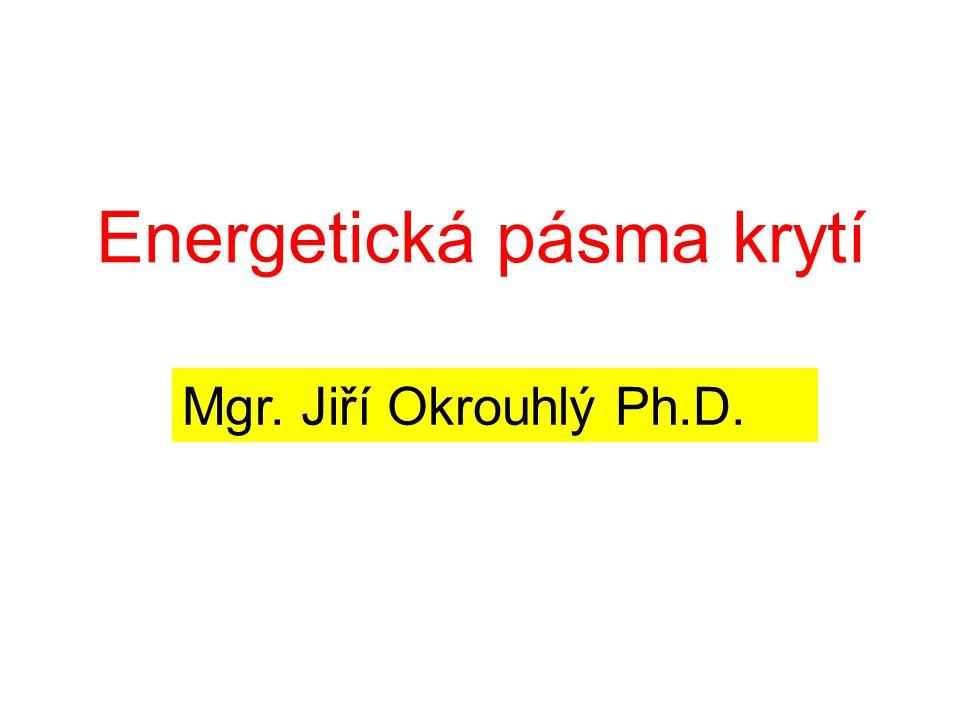 Energetická pásma krytí Mgr. Jiří Okrouhlý Ph.D.