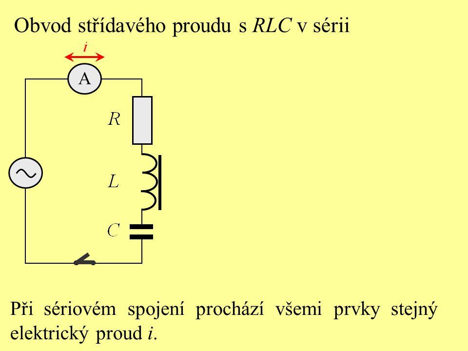Při sériovém spojení prochází všemi prvky stejný elektrický proud i.