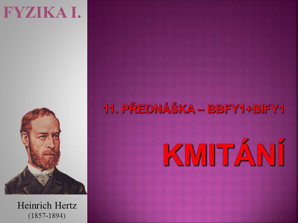FYZIKA I. Heinrich Hertz (1857-1894)
