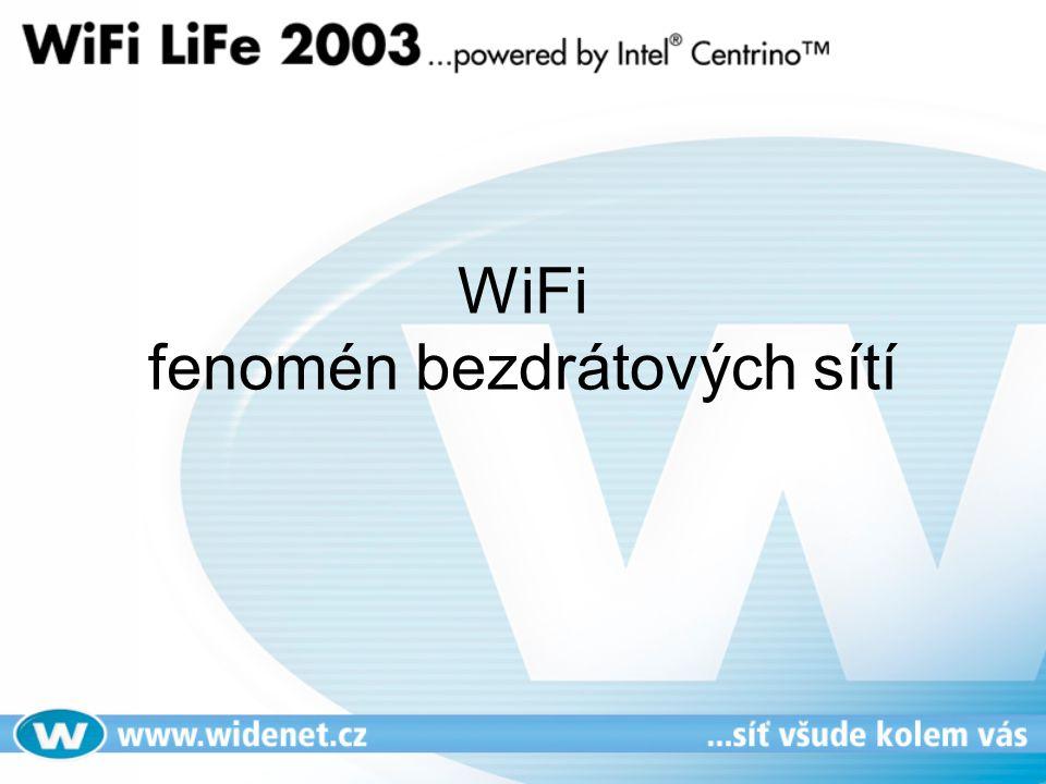 WiFi fenomén bezdrátových sítí