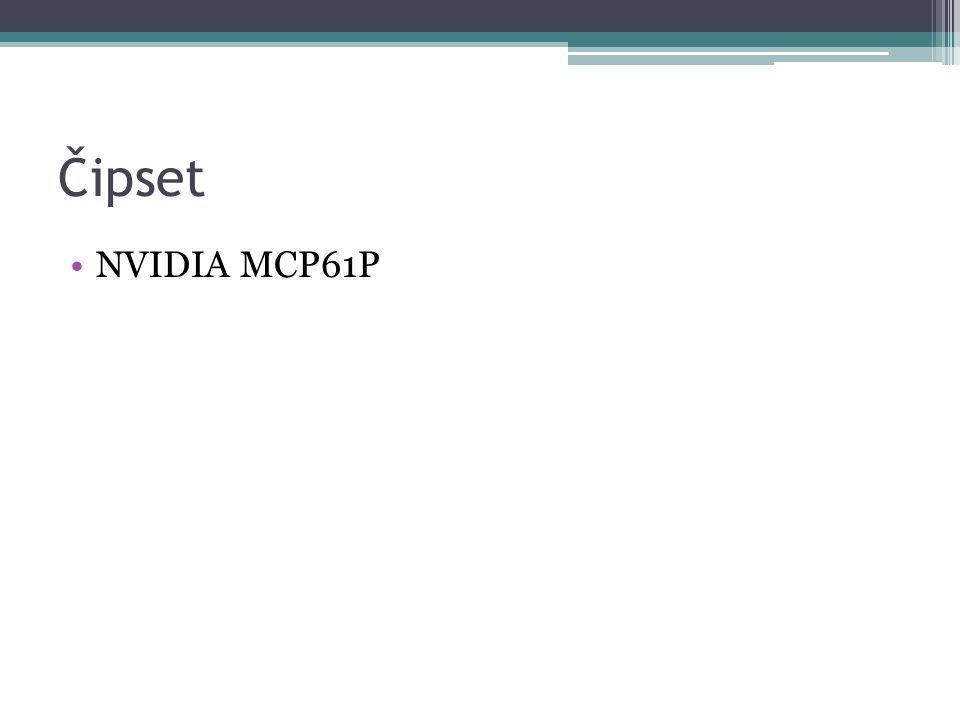 Čipset NVIDIA MCP61P