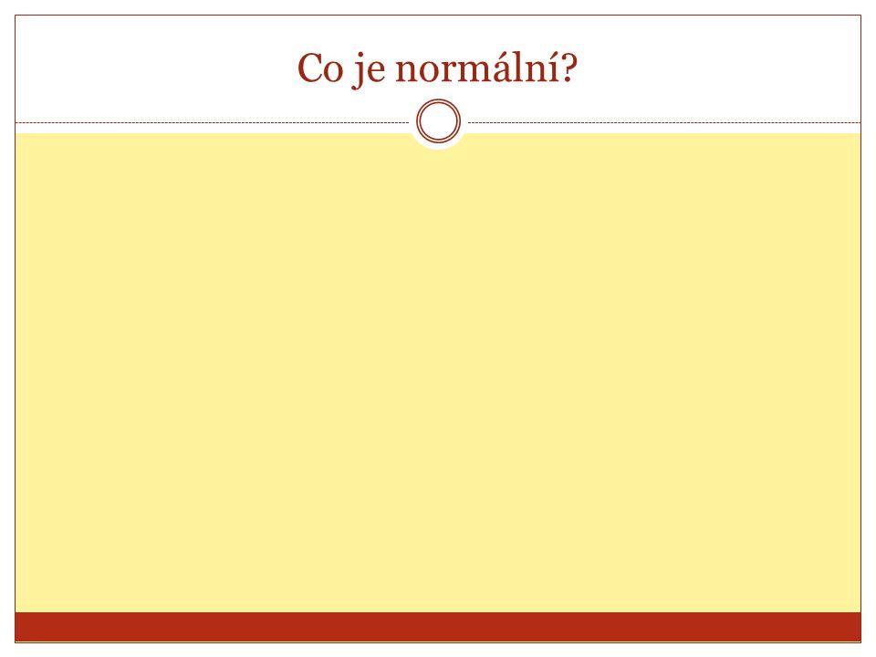 Co je normální?