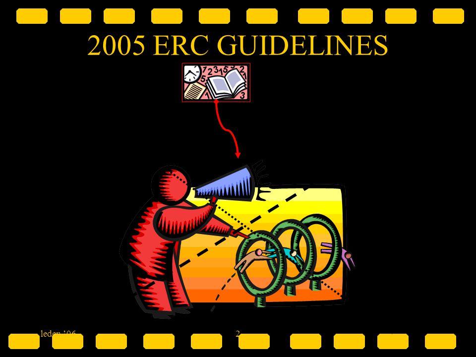 leden '062 2005 ERC GUIDELINES &
