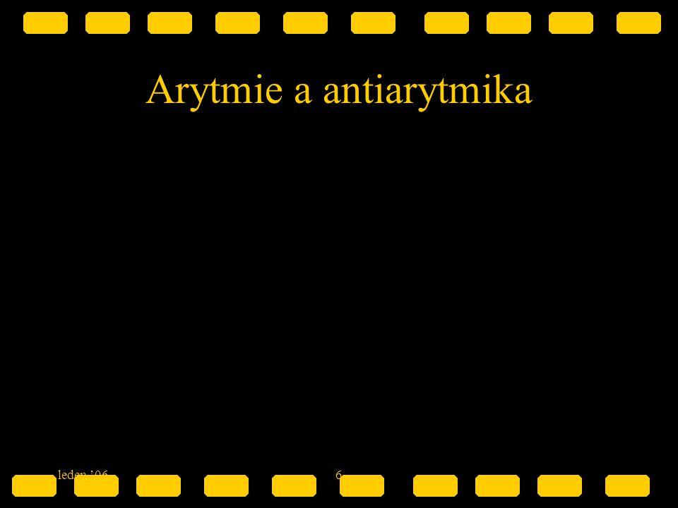 6 Arytmie a antiarytmika