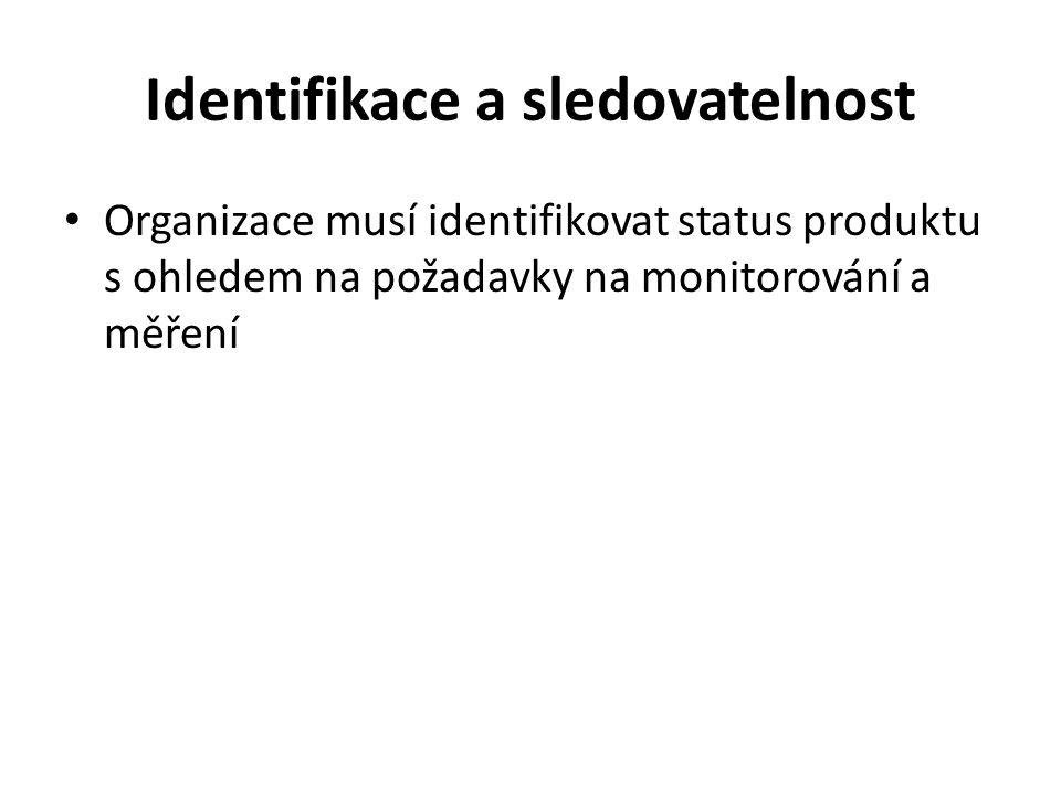 Majetek zákazníka Organizace musí identifikovat, ověřovat, chránit a zabezpečovat majetek zákazníka poskytnutý k použití nebo začlenění do produktu.