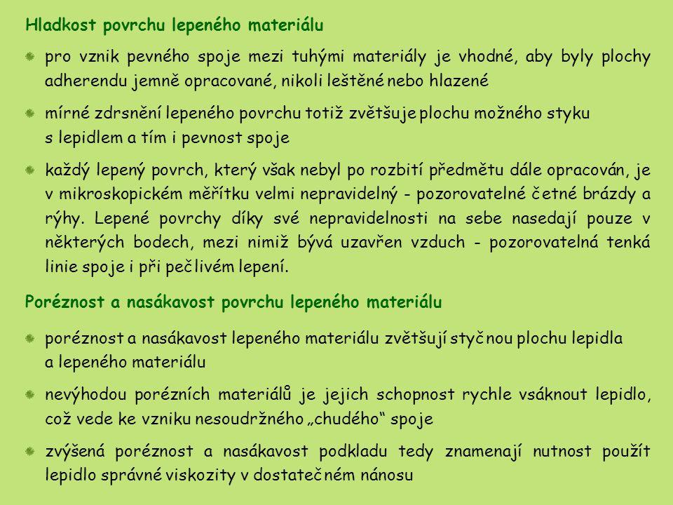 činitelem způsobujícím polymerizaci kyanoakrylátových lepidel je vzdušná vlhkost polymerizace nastane až za nepřístupu kyslíku po uzavření lepeného spoje spoje vytvořené kyanoakrylátovými lepidly se vykazují houževnatostí, plasticitou a elasticitou a dobrou smykovou pevností v tahu tepelná odolnost těchto lepidel je maximálně do 80 °C použití kyanoakrylátových lepidel je v oblasti KoRe omezeno jejich obtížnou odstranitelností a požadavky na čistotu a výbornou přiléhavost lepených povrchů výhodné je použití při lepení skla a keramiky kyanoakrylátové lepidlo není na lepený povrch naneseno celoplošně, ale pouze bodově, po jeho aplikaci se předmět lepí epoxidovým lepidlem, které se natáhne do lomů kapilárním vzlínáním a vytvoří pevný spoj fragmentů