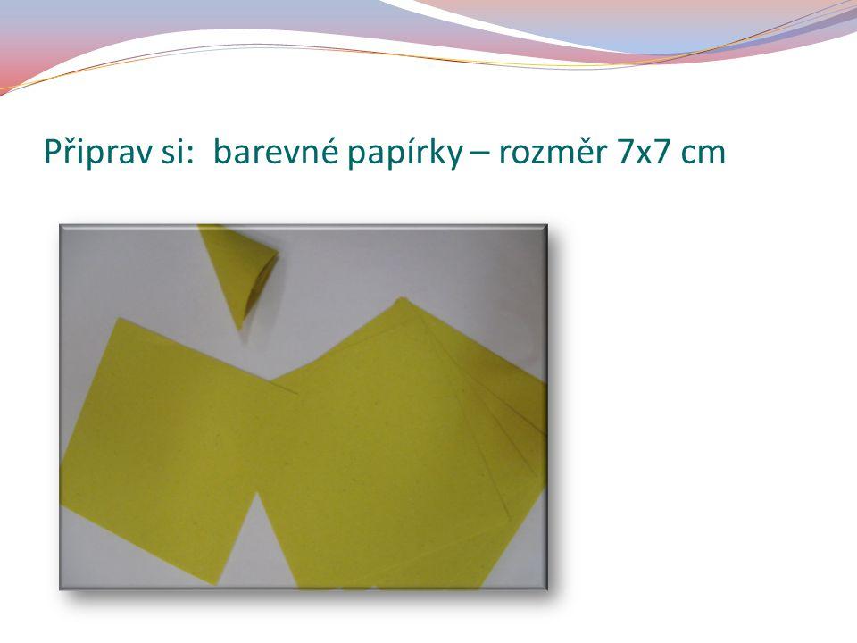 Slož papírek dle obrázku