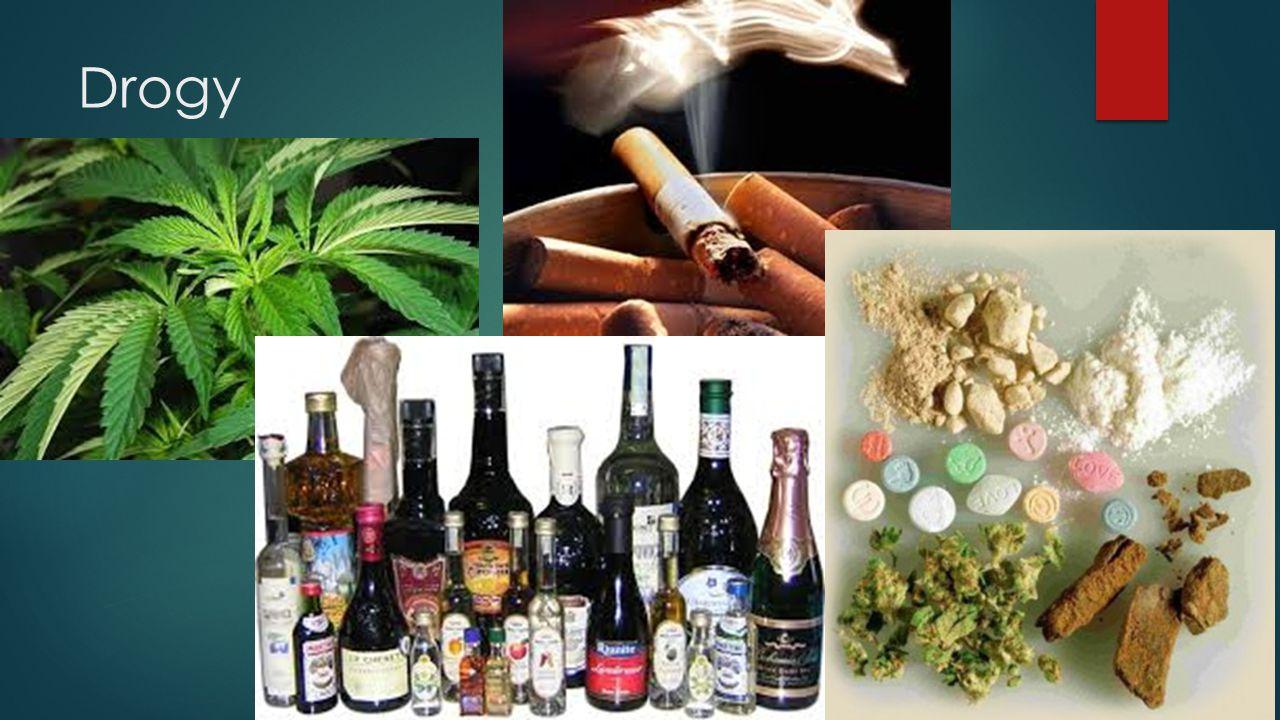  = psychotropní látky  ovlivňují duševní stav člověka  Negativní působení na lidský organismus  Návykové  závislost, náročná léčba  Doping, nebezpečné při haváriích