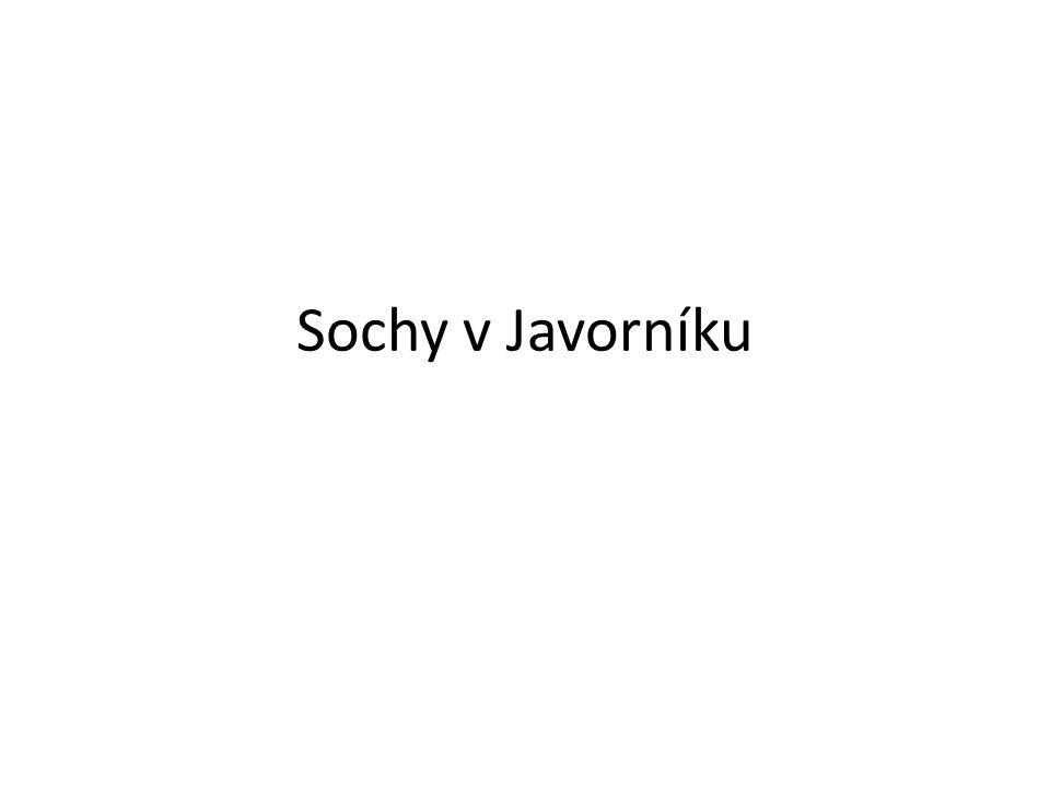 NÁZEV ŠKOLY: Základní škola Javorník, okres Jeseník REDIZO: 600 150 585 NÁZEV: VY_32_INOVACE_592_Javornické sochy AUTOR: Mgr.