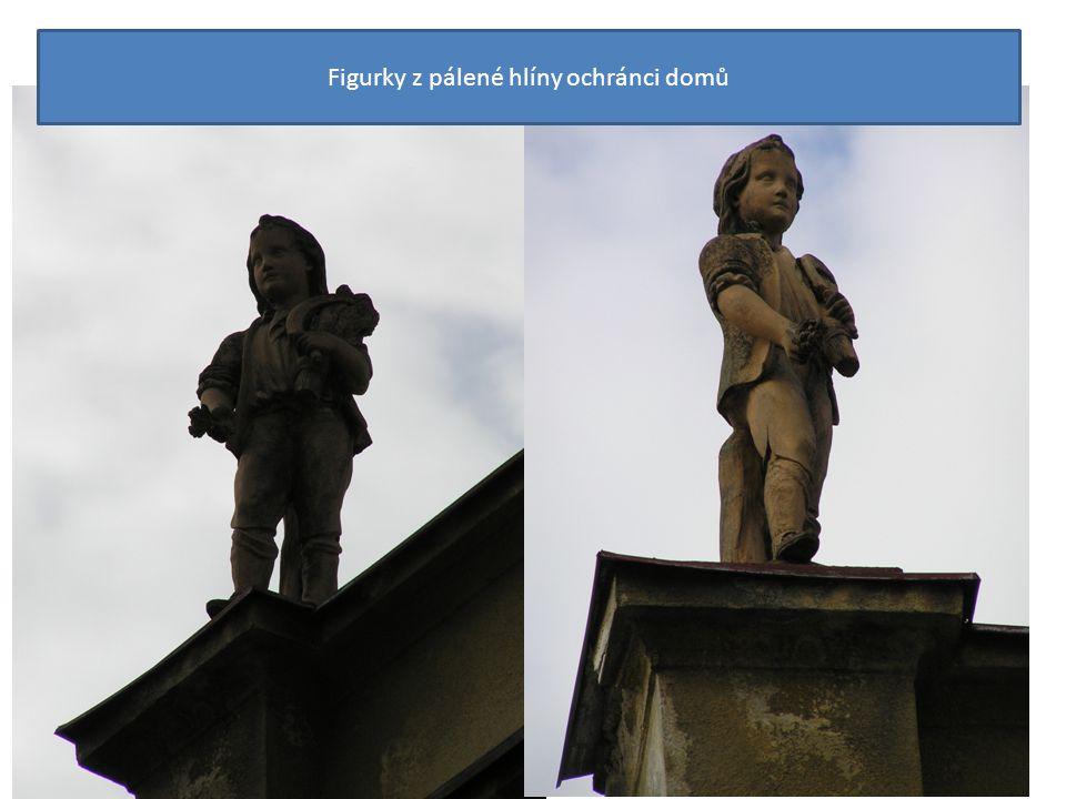 Figurky z pálené hlíny ochránci domů