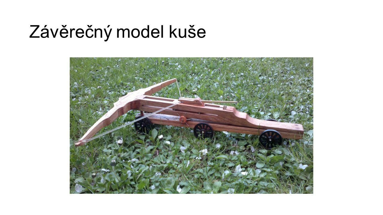 Závěrečný model kuše