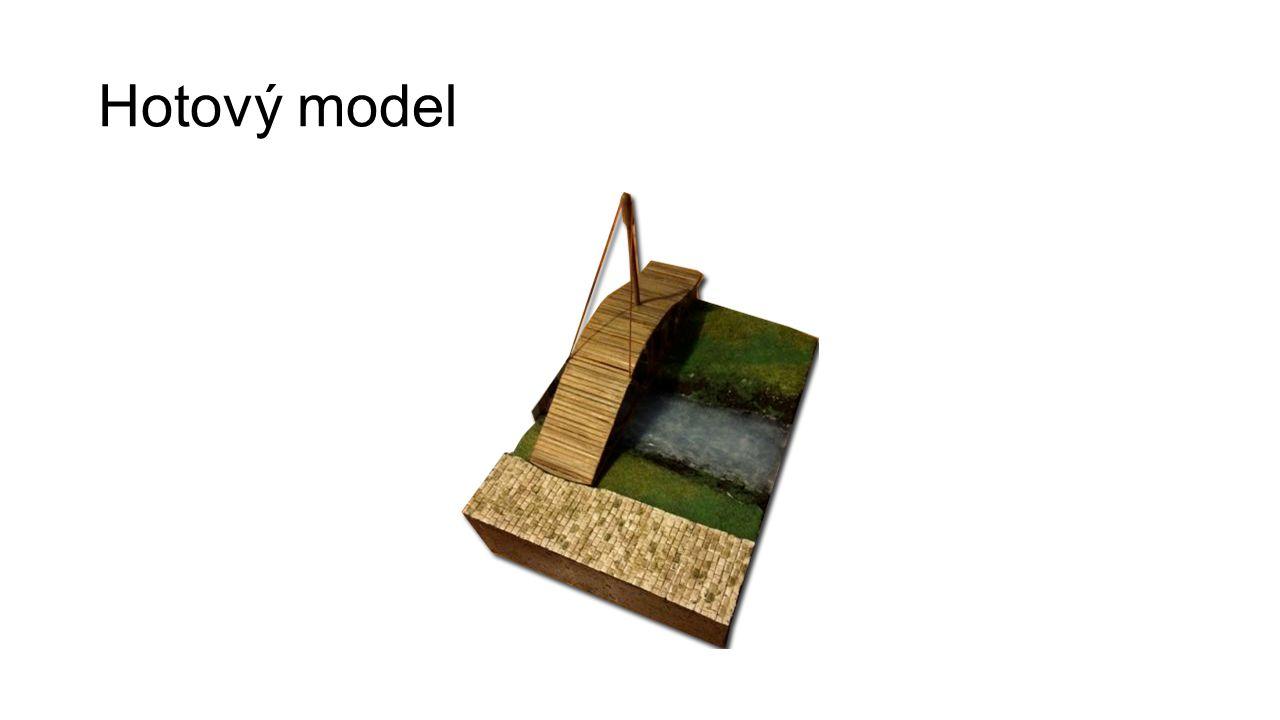 Hotový model