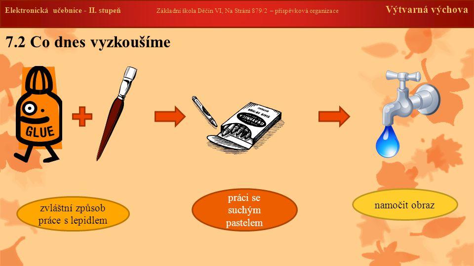 Elektronická učebnice -II. stupeň Základní škola Děčín VI, Na Stráni 879/2 – příspěvková organizace Výtvarná výchova 7.2 Co dnes vyzkoušíme zvláštní z