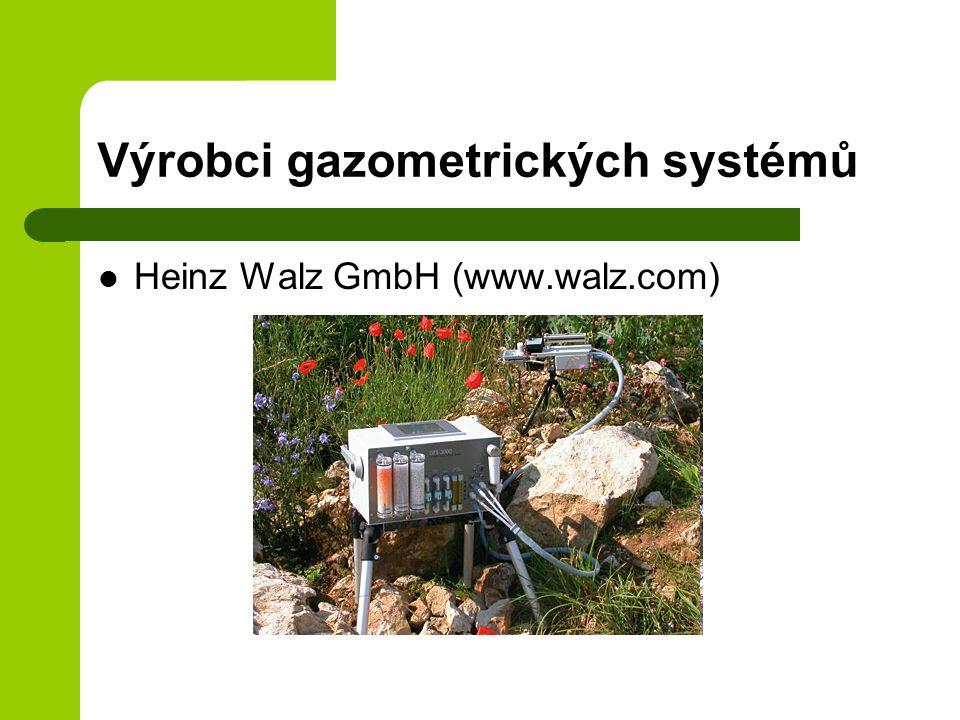 Výrobci gazometrických systémů Heinz Walz GmbH (www.walz.com)
