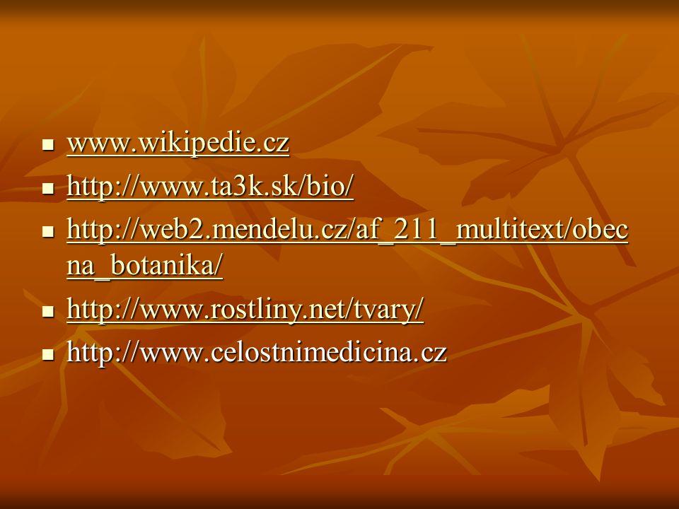 www.wikipedie.cz www.wikipedie.cz www.wikipedie.cz http://www.ta3k.sk/bio/ http://www.ta3k.sk/bio/ http://www.ta3k.sk/bio/ http://web2.mendelu.cz/af_2