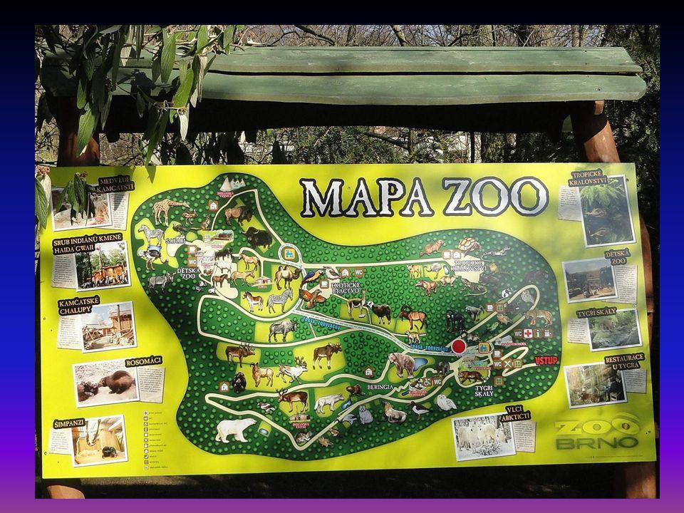 Vstup do areálu zoologické zahrady