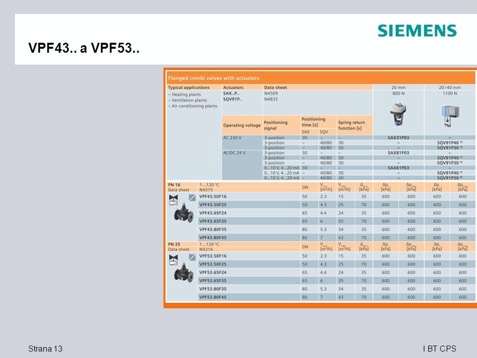 I BT CPS VPF43.. a VPF53.. Strana 13
